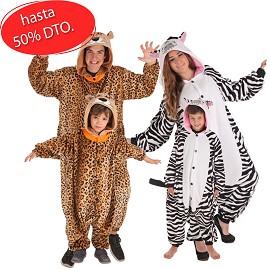 Disfarces de Chita e Zebra