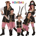 Disfarces de Piratas do mar do Caribe