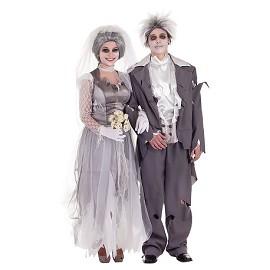 Trajes de Halloween em casal