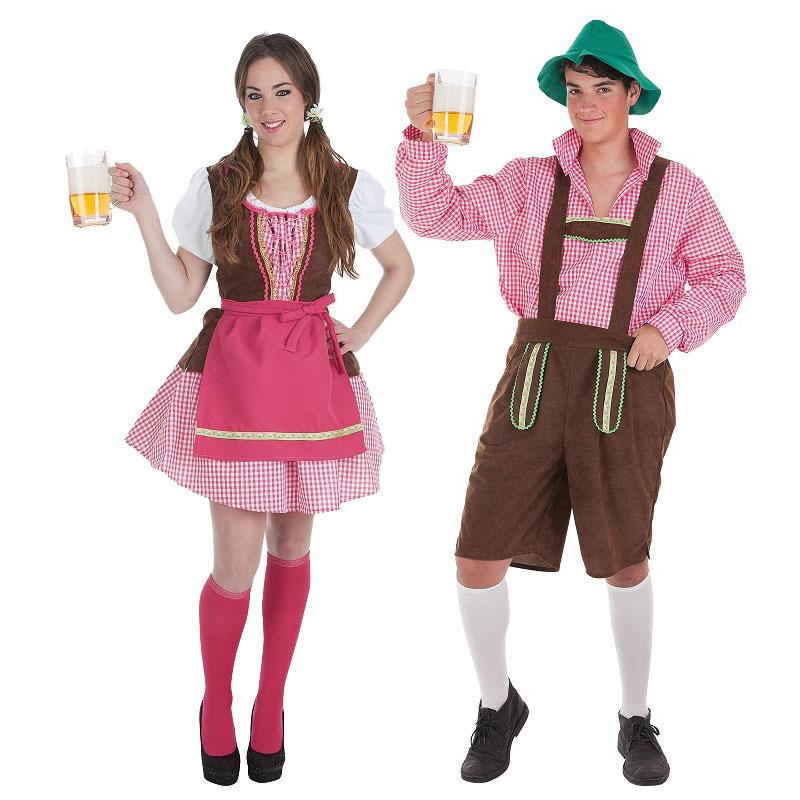 Disfraces Tirolés y Tirolesa