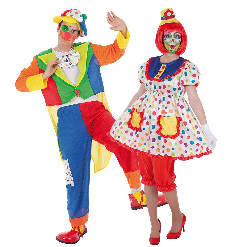 Disfraces Payaso Tino y Tina