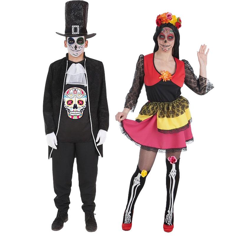 Disfraces Catrina y Muertos