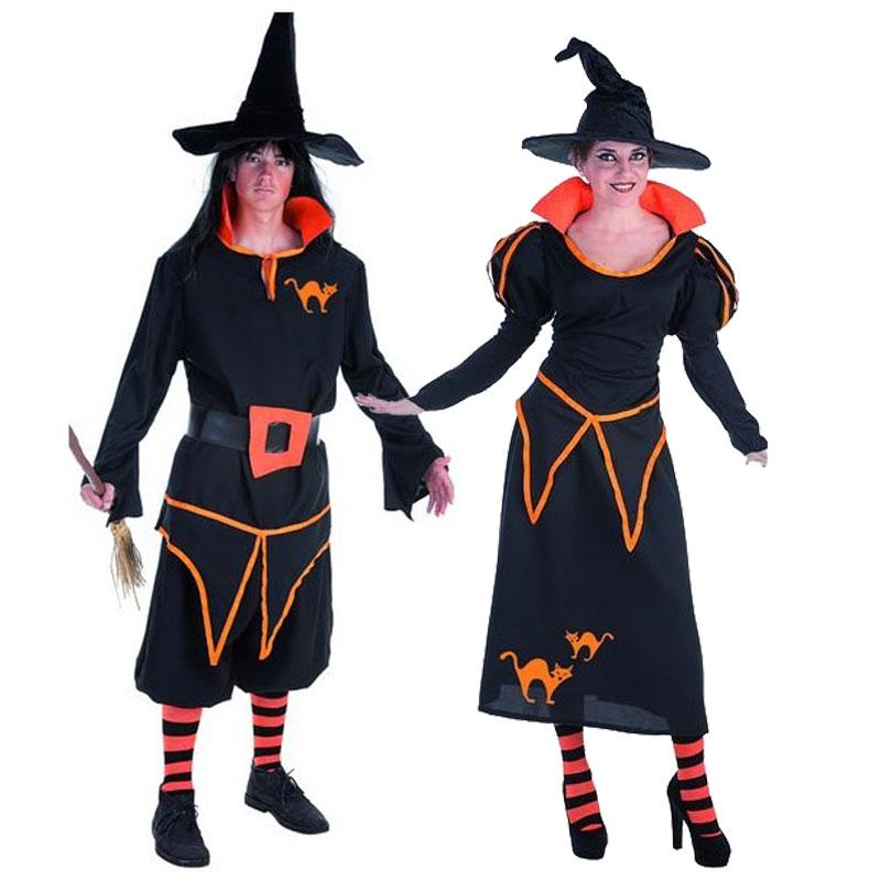 Disfraces Mago y Bruja